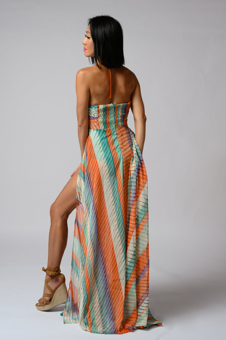 Muriel Maxi Dress #Multi