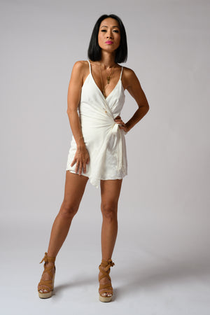 Ruby Romper #White