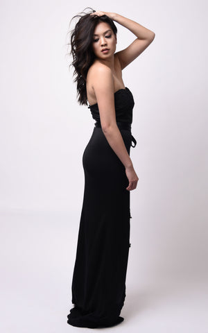 Andrea Maxi Dress #Black