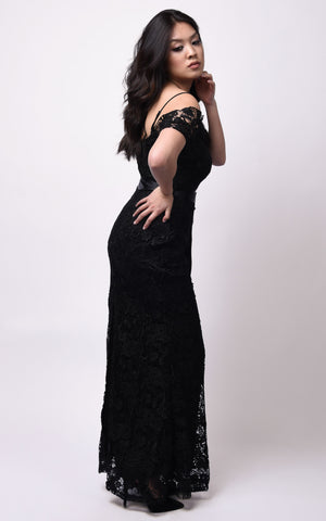 Tiffiny Maxi Dress #Black