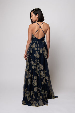 Jenny Maxi Gown #Blue