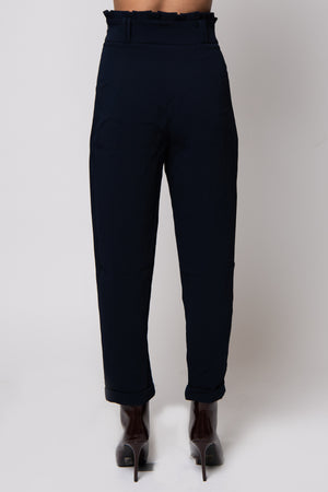 Mylene High Waist Pants #Navy