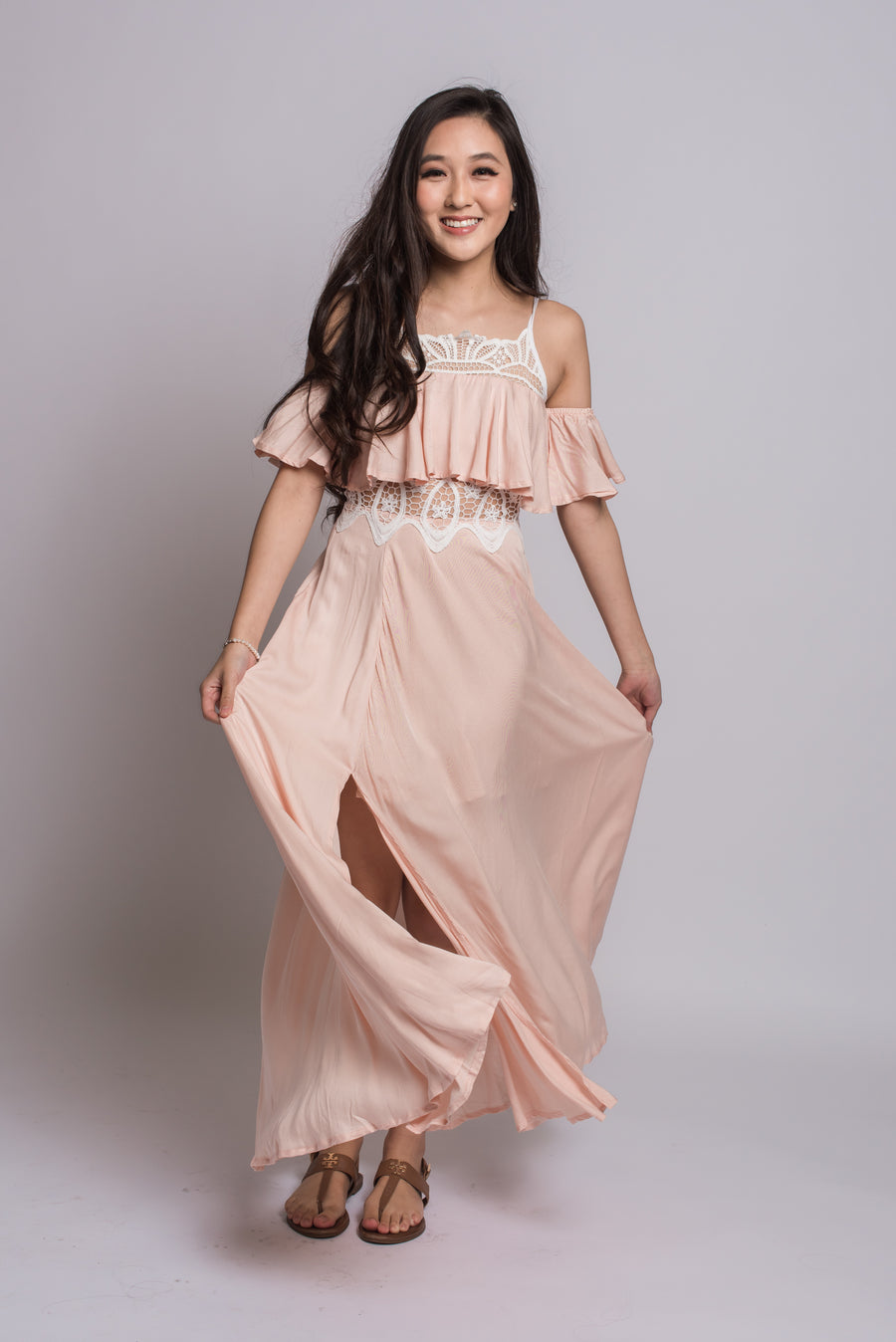 Anne Flowy Dress #Pink