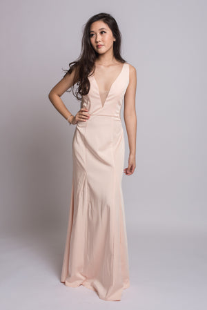 Lara Maxi Dress #Champagne