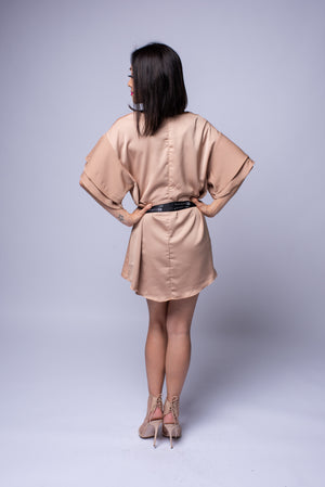 Davina Dress #Taupe