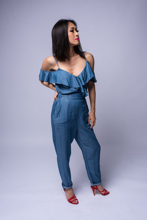 Pamela Jumpsuit #Denim