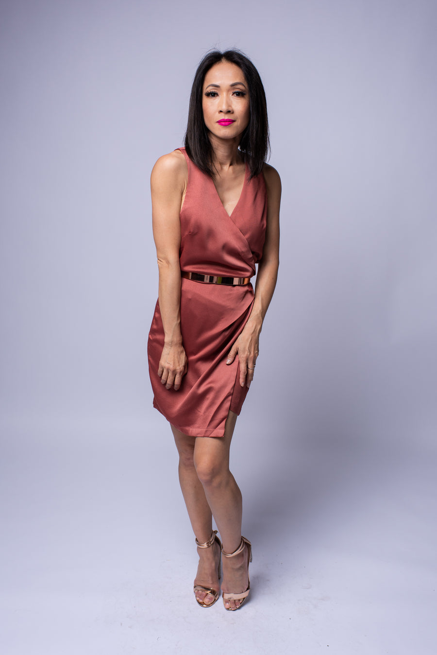 Darlene Dress #Spice Terracotta