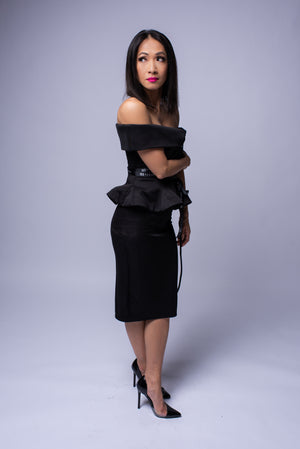 Denise Dress #Black
