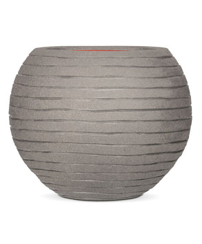 Capi Nature Vase Ball Row grau