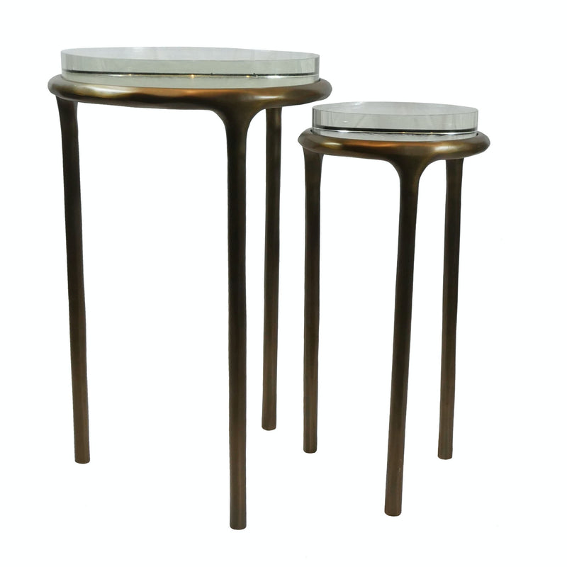 Lucite Accent Table