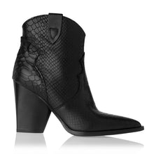 Load image into Gallery viewer, WESTREN LEATHER ANKLE BOOTS