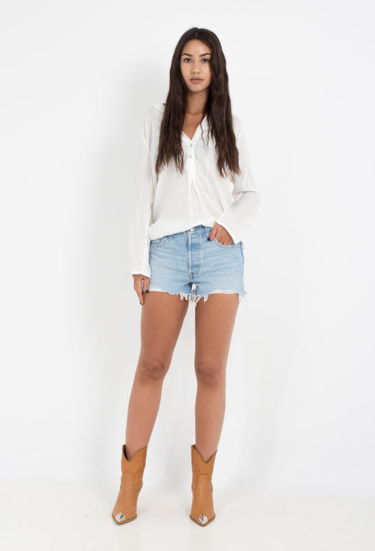SHORTS JEANS 501 HIGH RISE