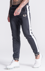 BLACK SUIT JOGGERS WITH RR ELASTIC