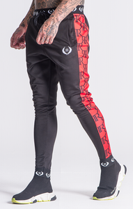 RED LOGO OBSESSION JOGGERS