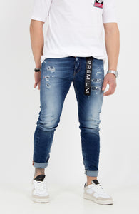 TROUSERS JEANS LIVORNO-1639