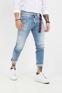 DENIM TROUSERS GARRAIA1
