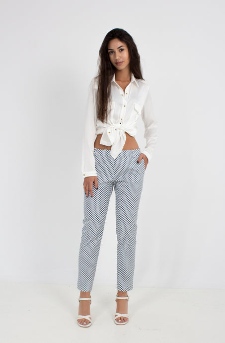 TROUSERS 40POL 57COT 3LYC