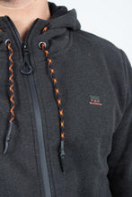 Load image into Gallery viewer, MELANGE ZIP-UP HOODIE