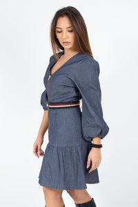 DRESS DENIM MINI