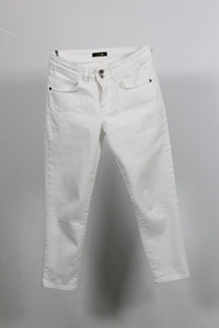 TROUSERS JEANS WHITE