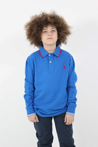 TOP USPA BARNEY POLO LS