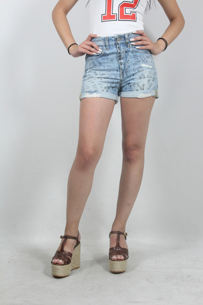 DENIM SHORTS JACKIE-126-P