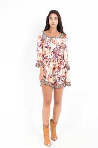 LLIAN PRINT FIJI MINI DRESS