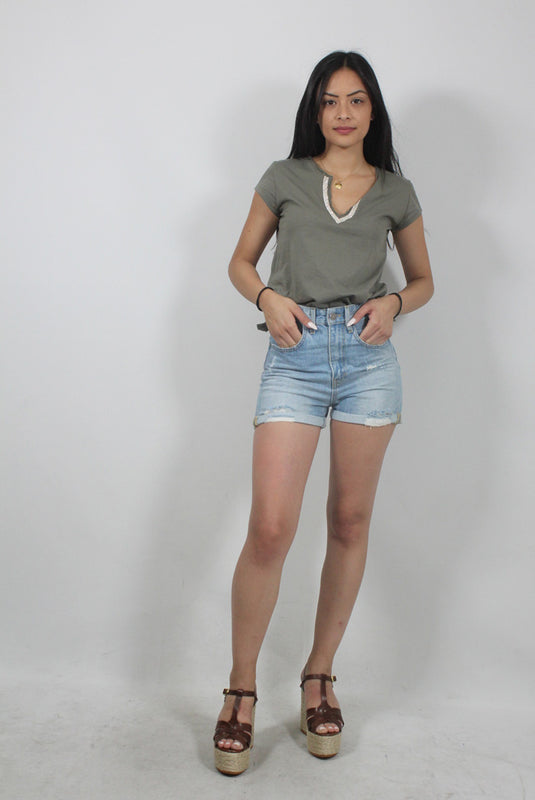 DENIM SHORTS JACKIE-126