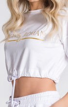 Load image into Gallery viewer, WHITE CORE RR CROPPED TEE