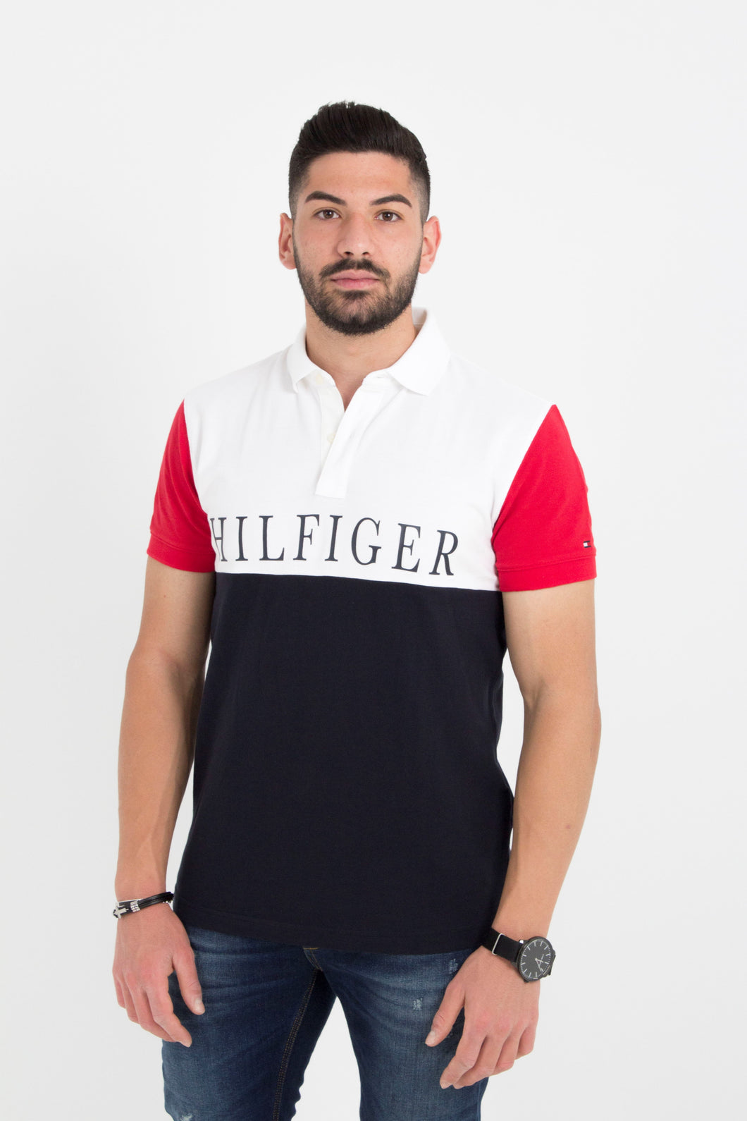 HILFINGER COLORBLOCK REGULAR POLO