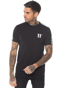 CUT OFF PANEL T-SHIRT