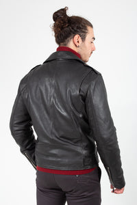 JACKET LEATHER DREW SHEEP VEAGS