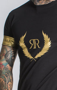 BLACK GOLD DECO TEE