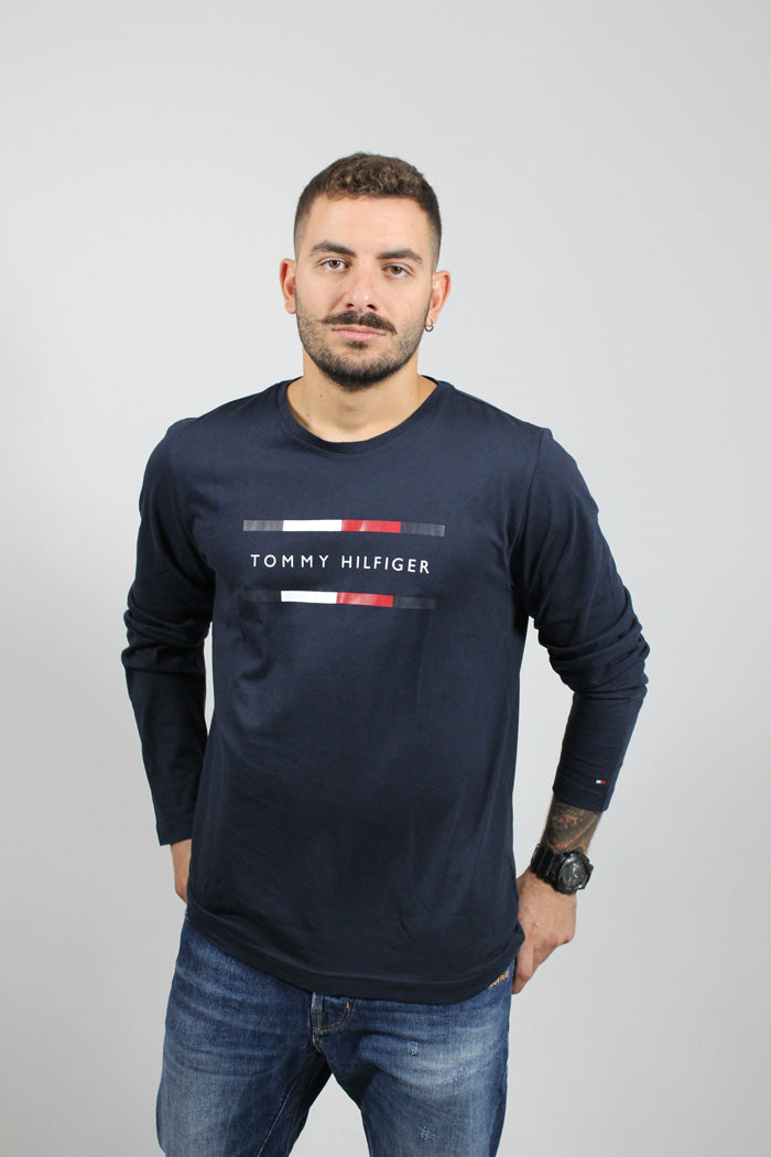 CORP TOMMY HOLFIGER LONG SLEEVE TOP
