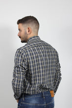 Load image into Gallery viewer, HEATHER MULTI WINDOWPANE SHIRT