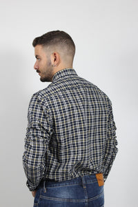 HEATHER MULTI WINDOWPANE SHIRT