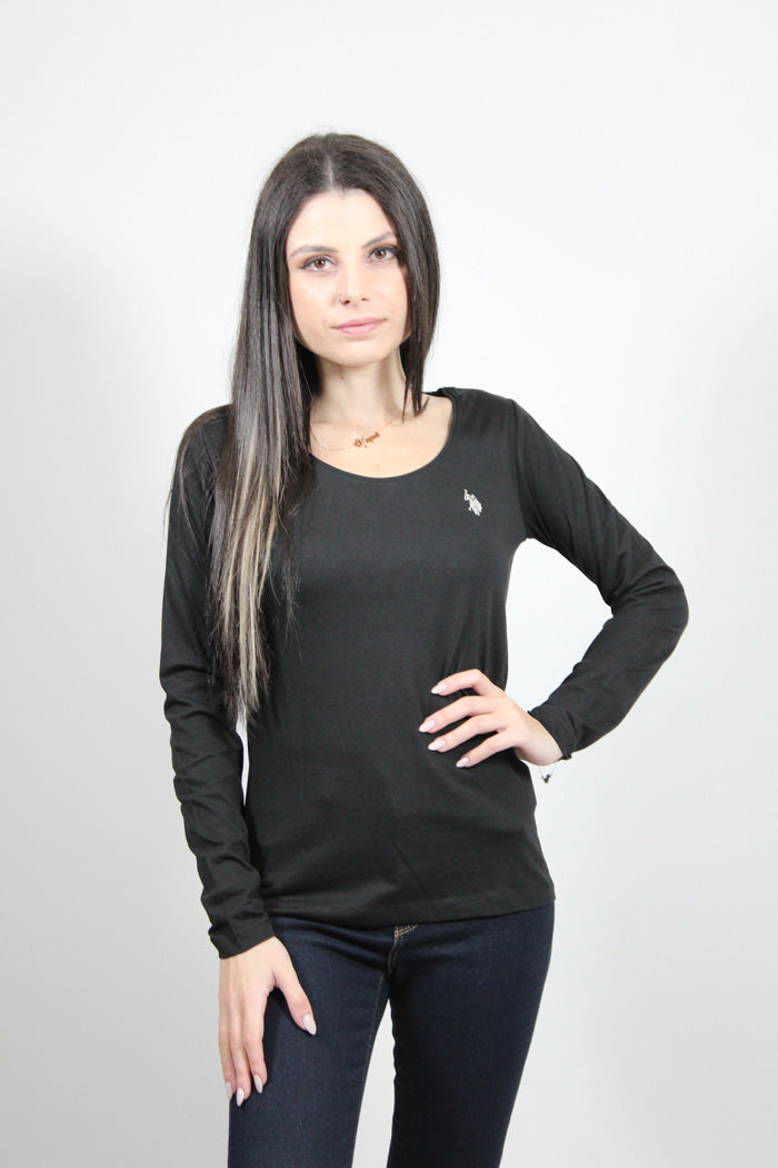 TOP USP BASIC R NK TEE