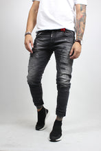 Load image into Gallery viewer, TROUSERS JEANS BLACK NASOS 3