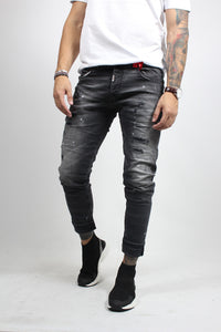 TROUSERS JEANS BLACK NASOS 3