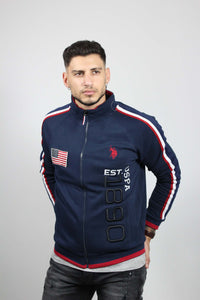 SWEATER USPA 1890 FLEECE