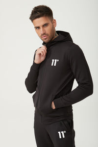 CORE FULL ZIP POLY TRACK TOP