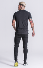 Load image into Gallery viewer, BLACK OBSESSION TEE
