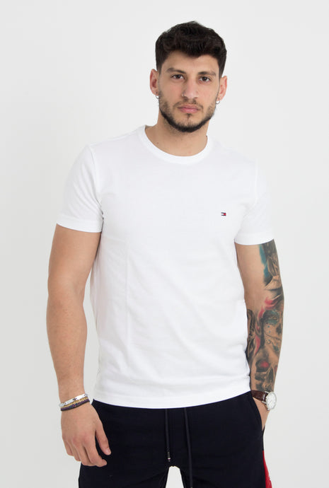 ESSENTIAL COTTON CNECK TEE