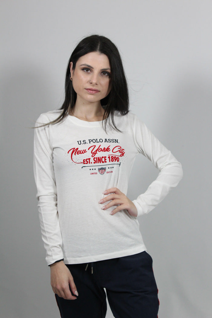 TOP AMY N.Y CITY TEE LS