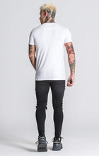 Load image into Gallery viewer, WHITE SIGNATURE TEE