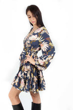 Load image into Gallery viewer, BLOOM PRINT CAPRIO MINI DRESS