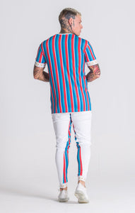 MULTICOLOR EXOTIC VIBE TEE