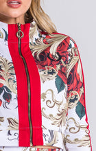 Load image into Gallery viewer, RED BURLESQUE JACKET