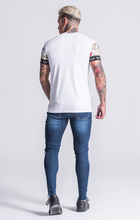 Load image into Gallery viewer, WHITE BURLESQUE TEE