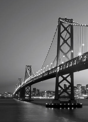 Wizard+Genius San Francisco Skyline Fototapete 183x254cm | Yourdecoration.de